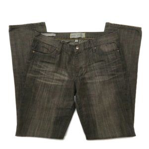 PD&C Paper Denim & Cloth Low Rise Cigarette Gray